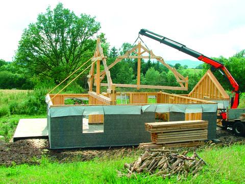 Constructeur bois : maison de la forêt et du bois d'auvergne - centre